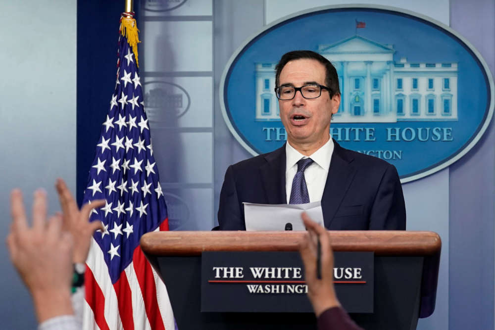 U.S. Treasury chief Mnuchin says optimistic about US-UK trade deal