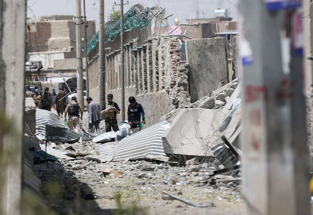 Taliban claim deadly bomb attack on Afghan police