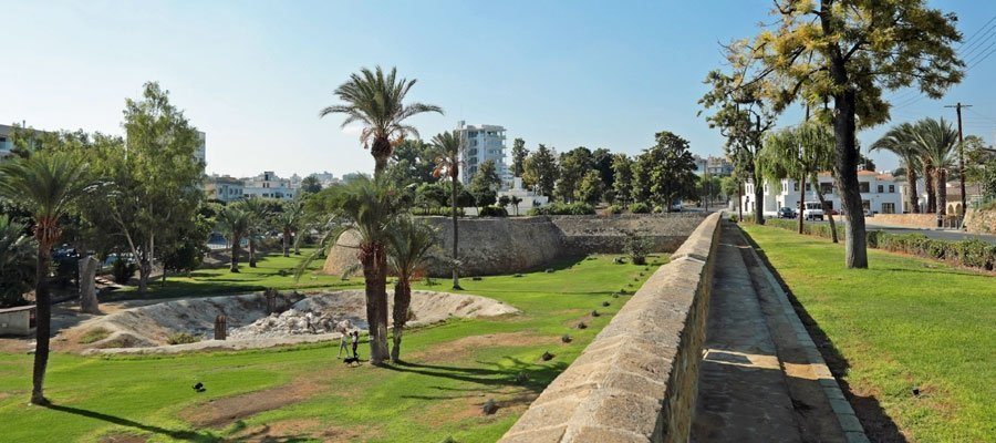 The Medieval Walls of Lefkosia (Nicosia)