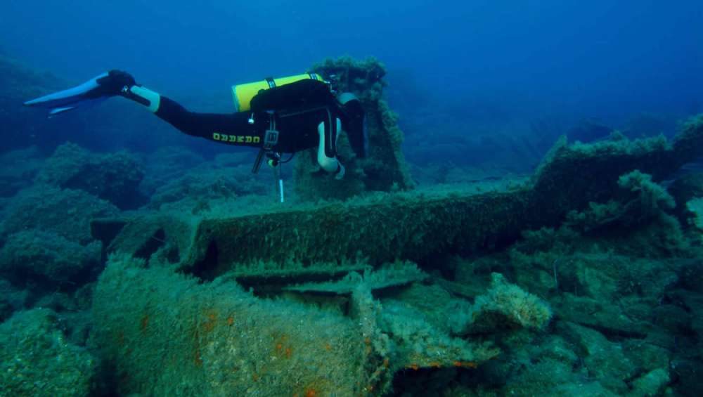 The Vera K Wreck Diving Site