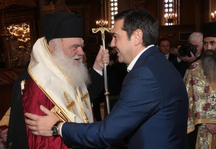 Tsipras-Archbishop to discuss separation of state-church