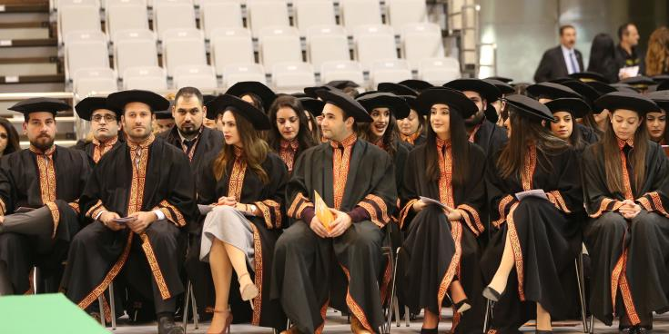 35 PhDs and 173 Masters' awarded in UCY graduation ceremony