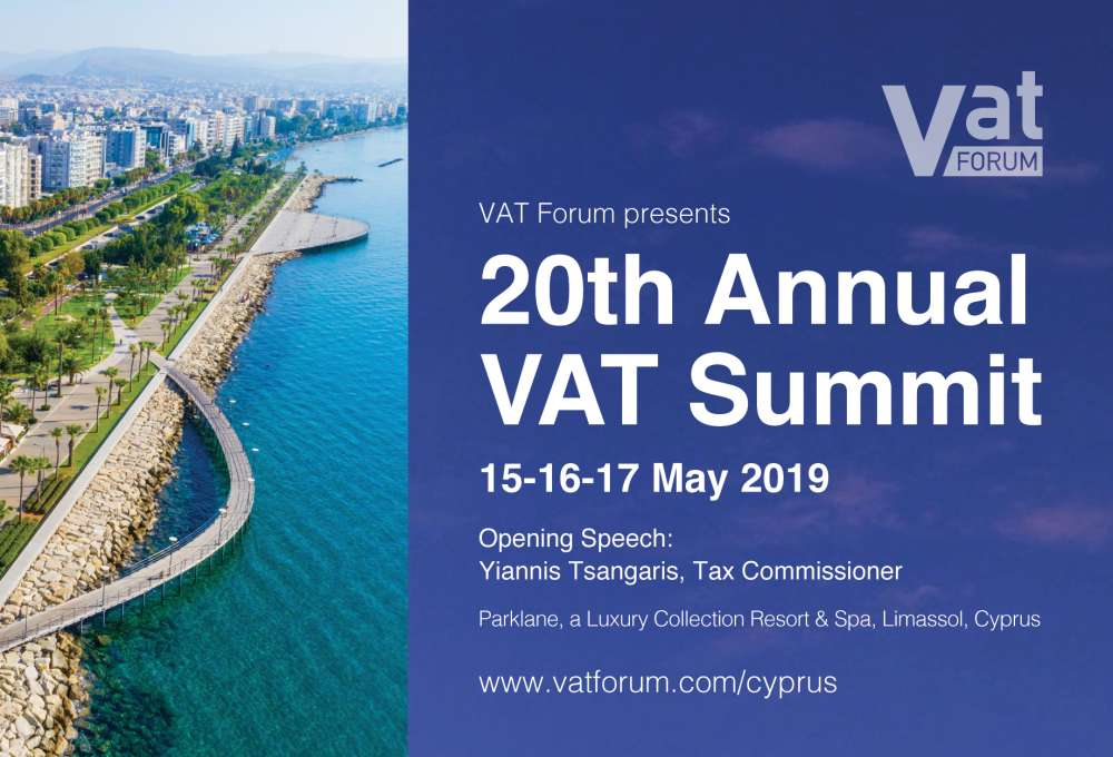 20th Annual VAT Summit to be held in Cyprus