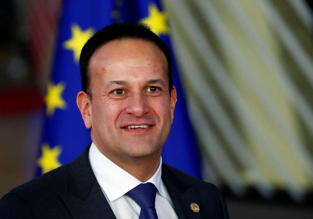 Third poll shows Irish PM's party behind in election race