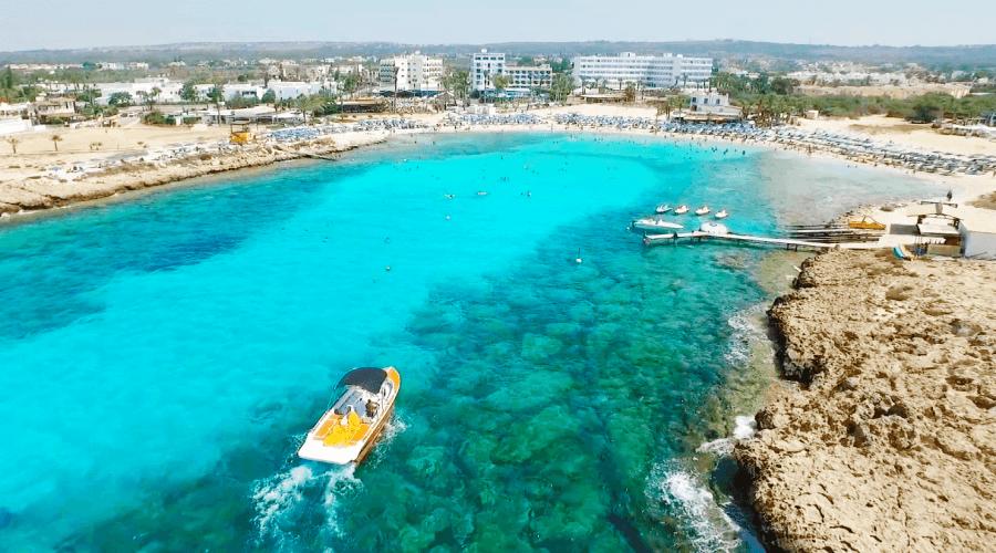 Vathia Gonia Beach - Blue Flag