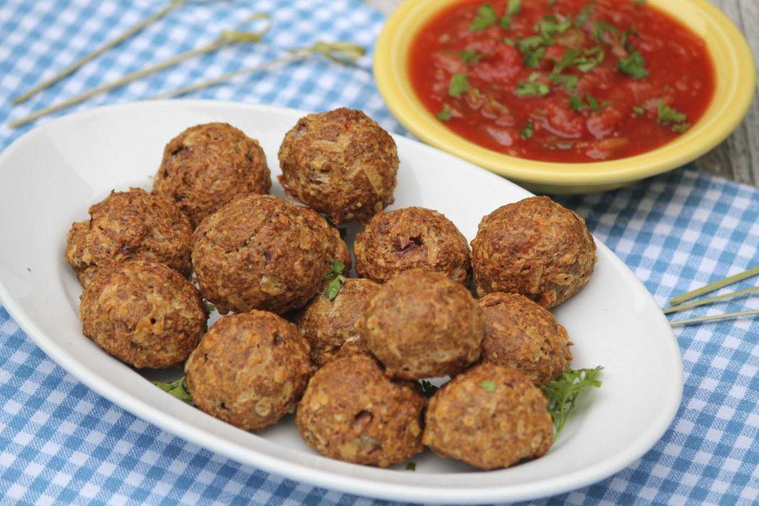 Vegetarian 'meatballs' (Lenten)
