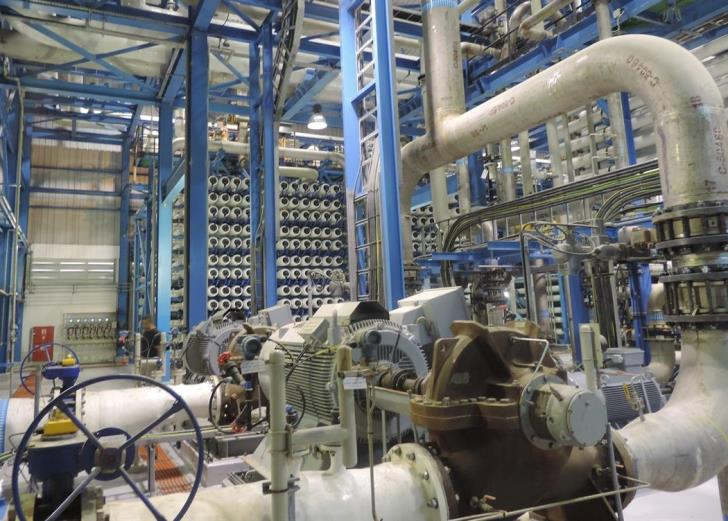 20% less desalinated water this year