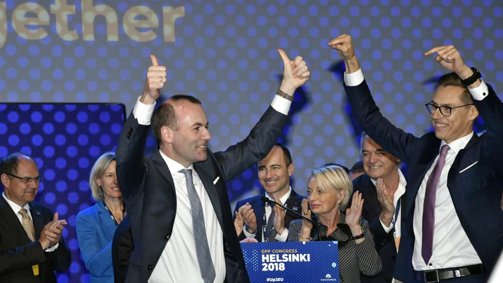 Manfred Weber elected EPP candidate for EU's top job