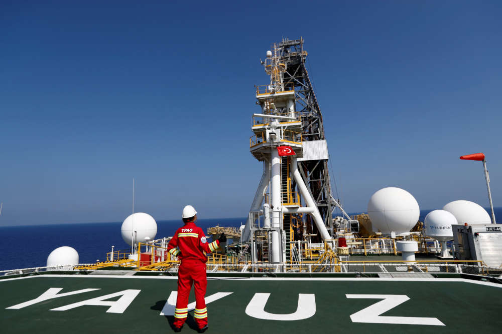 EU blacklists two Turkish nationals over illegal gas exploration offshore Cyprus