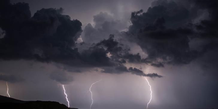 Rain and thunderstorms; met office yellow alert in force until 10 pm