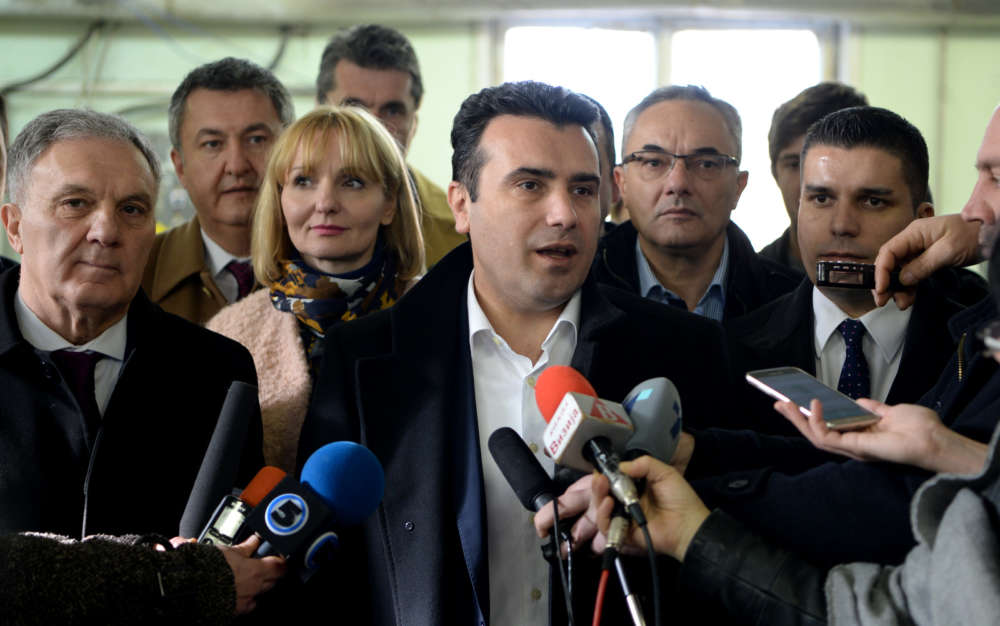 North Macedonia's PM resigns ahead of April vote