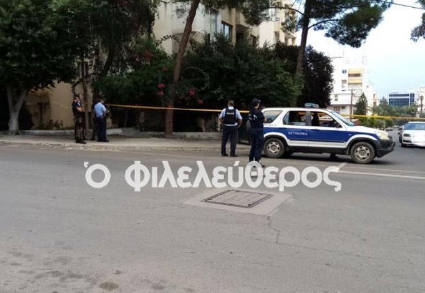 Gunman incident in Acropolis (photos)