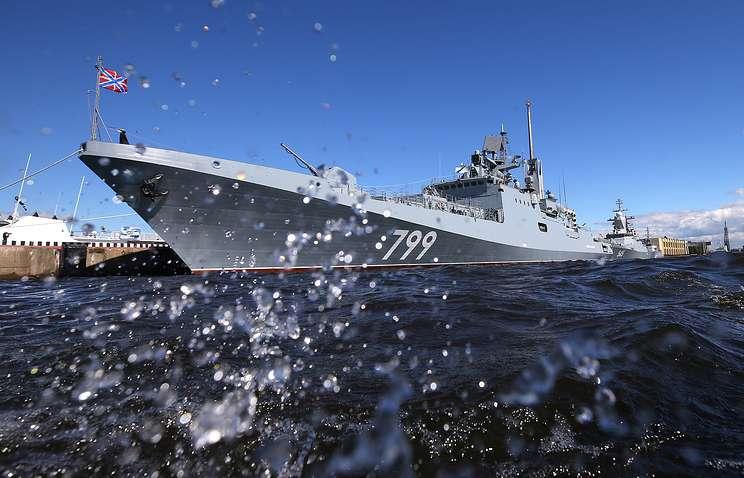 Russian frigate visits Limassol