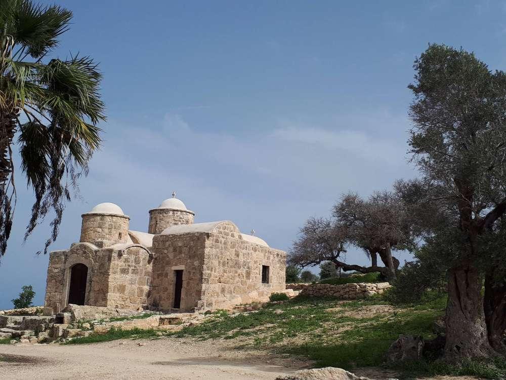 Deryneia churches