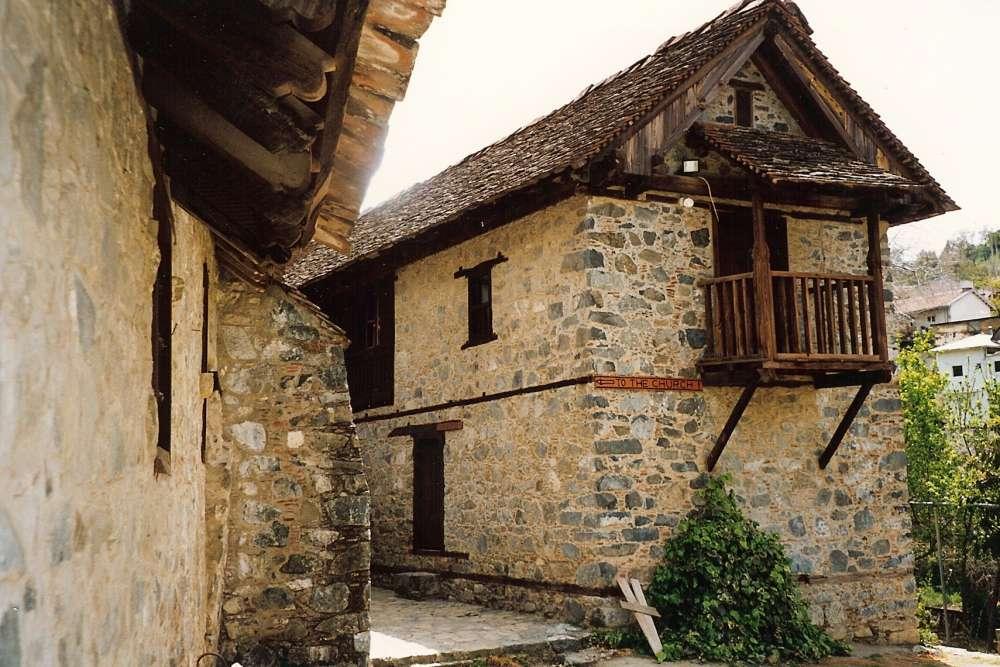 Monastery of Agios Ioannis (St John) Lampadistis