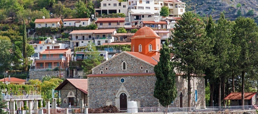 Agros Village: The home of roses