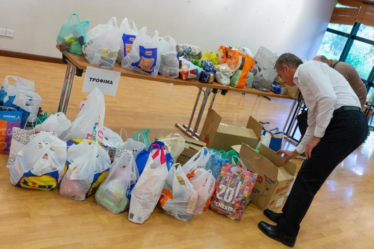 Commissioner urges public to stop donating goods; bank account details announced