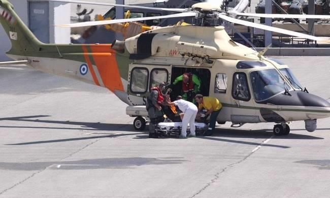 Cruise ship passenger airlifted to Paphos hospital