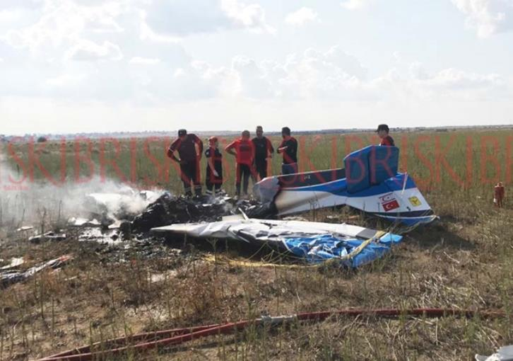 Light aircraft crashes in occupied north Cyprus