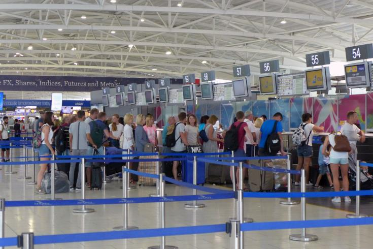 Cypriots' trips abroad up by 8.6% in October