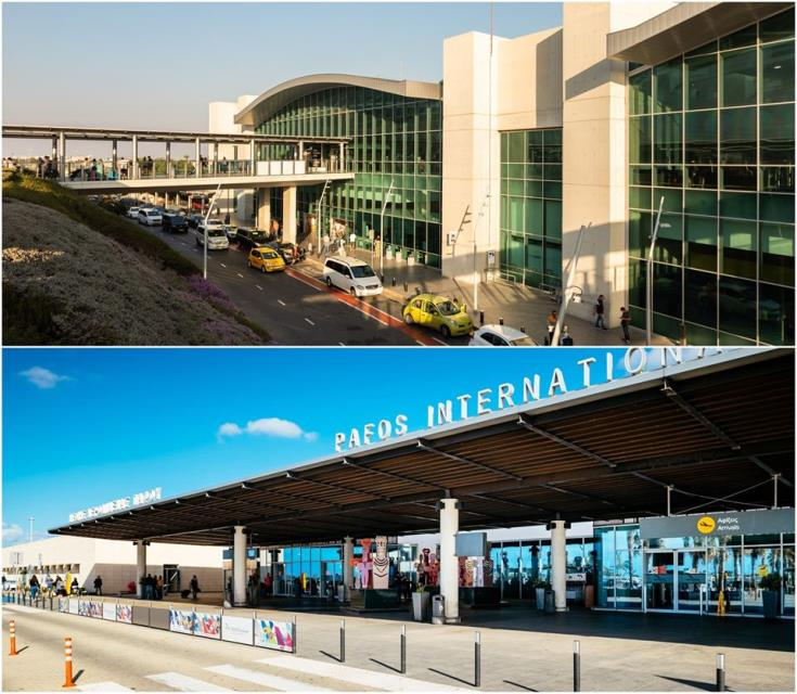 Coronavirus: Flight cancellations continue at Cyprus' airports