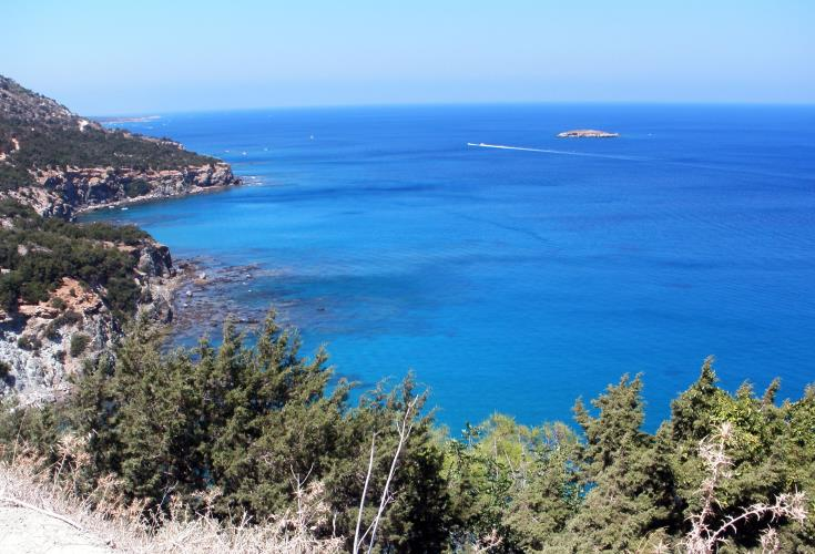 22 year old injured after quad bike goes off Akamas cliff