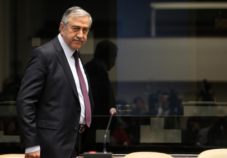 Akinci rejects the 'zero troops-zero guarantees' request as groundless