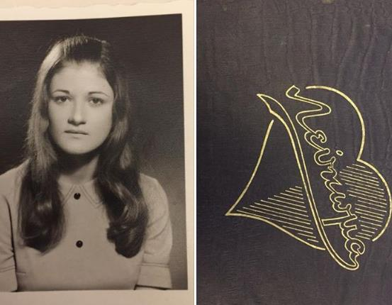 School album dated back to 1972 found and seeking its owner