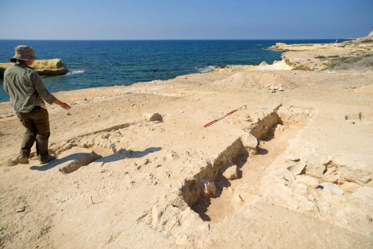 Excavations at Akrotiri's Dreamer's Bay point to one of best preserved ancient ports in Med