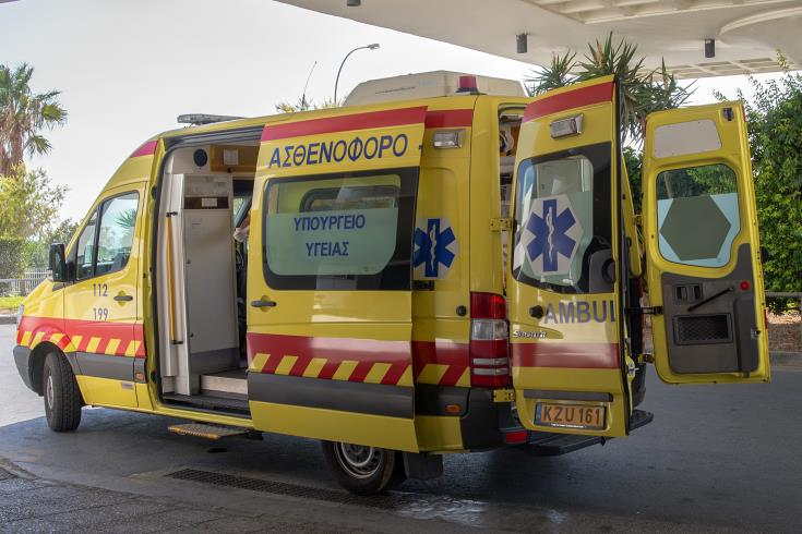 Biker hospitalised after collision with car in Limassol