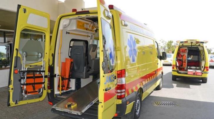 Driver in critical condition after Livadhia collision