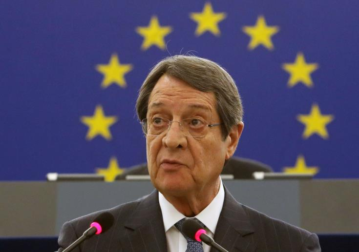 Anastasiades welcomes conclusions of EU's GAC