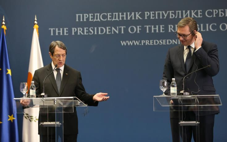 Cyprus President eyes opportunity for talk's resumption with dispatch of UN envoy