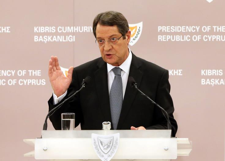 Turkey should not insist on provisions affecting sovereignty of a united Cyprus -President