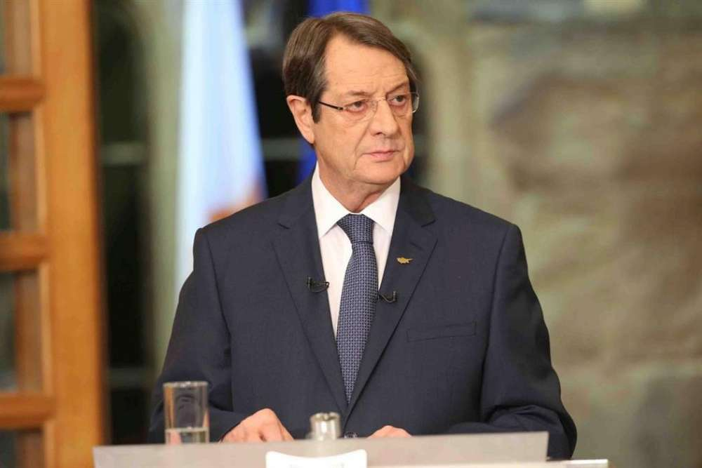 President Anastasiades commenting on State's involvement in Coop-bank issues
