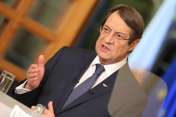 "Cyprus President evaluates Berlin meeting as ""a positive first step"""