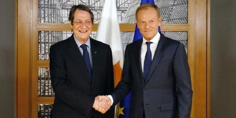 Anastasiades satisfied with EU solidarity