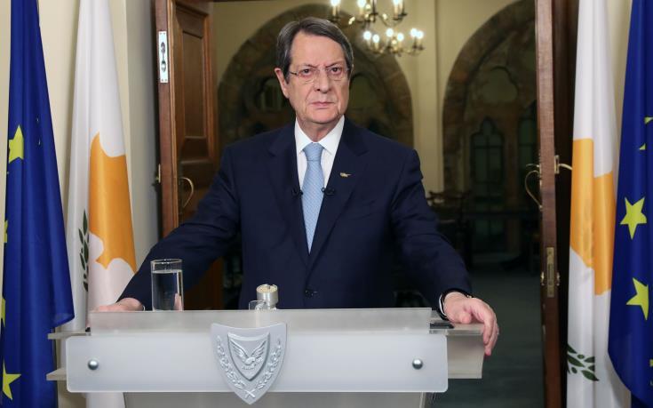 Η προστασία της δημόσιας υγείας αποτελεί ύψιστη προτεραιότητα, λέει ο Πρόεδρος της Κύπρου