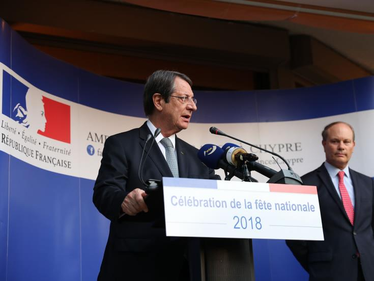 Anastasiades: No Cyprus solution if treaty of guarantee is still in place