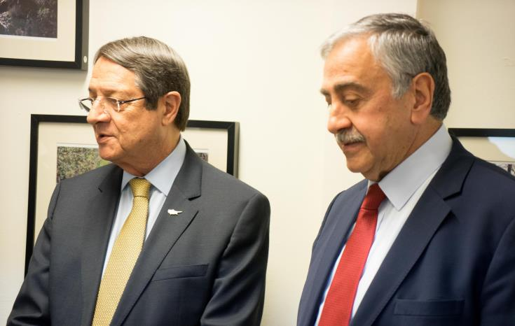 President Anastasiades' meeting with Akinci set for October 26