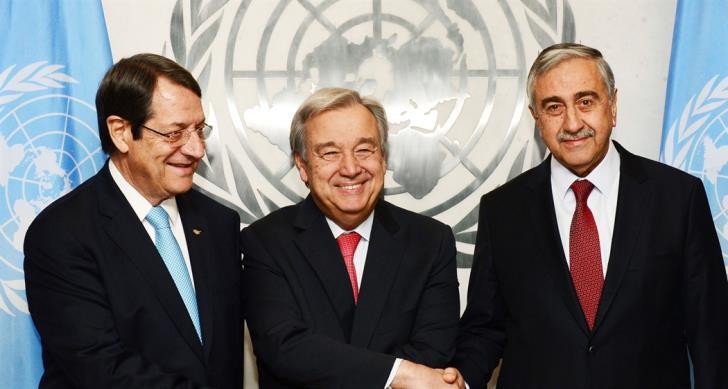 UNSG's meeting with Cyprus leaders may take place last week of November
