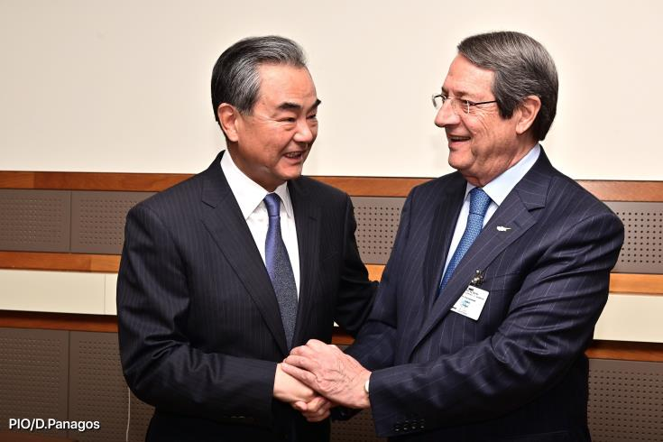 China supports implementation of UN resolutions on Cyprus