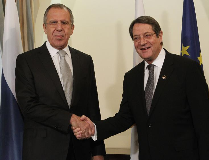 Cyprus President seeks Russia's help on Cyprus problem