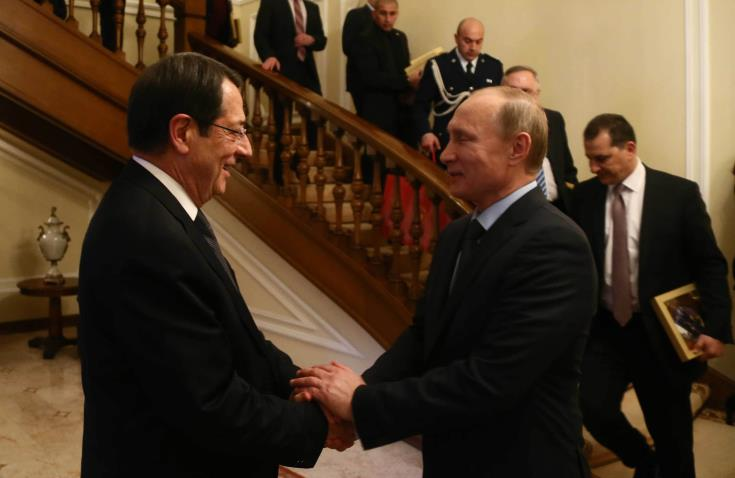 Russia supports just solution in Cyprus