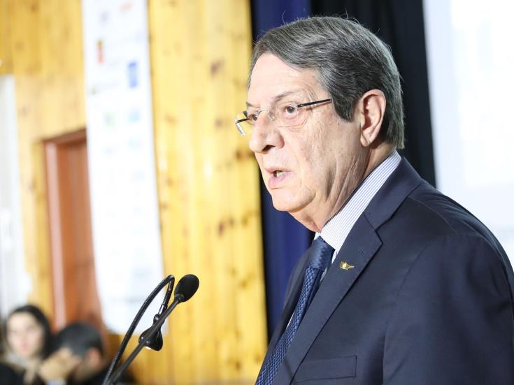 Cyprus President in Athens on January 2 for EastMed signing ceremony