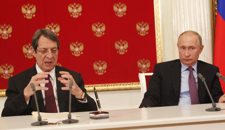 Relations between Cyprus and Russia developing positively