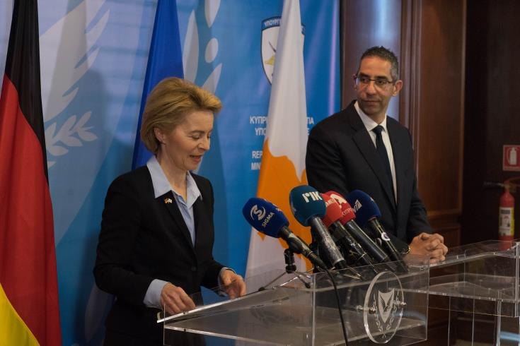 Cyprus and Germany agree to intensify cooperation as part of PESCO