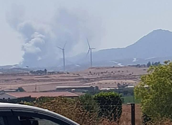 Updated: Fire at olive products factory in Anglisides contained