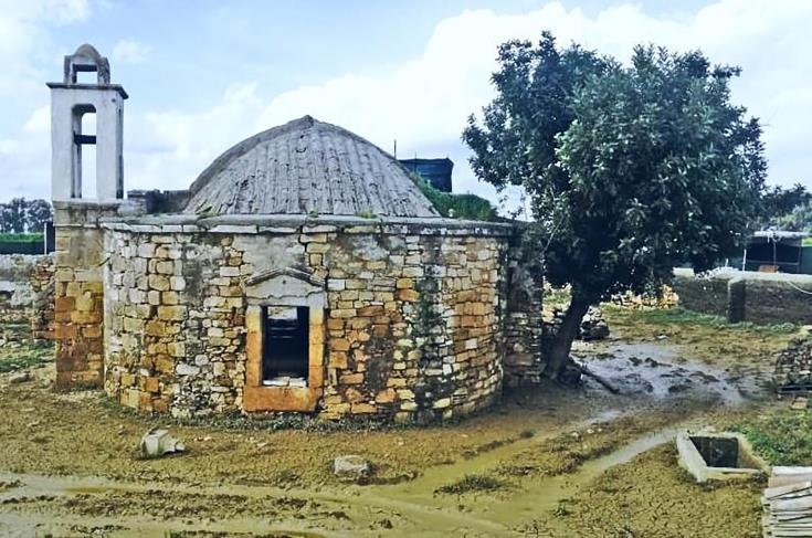 Ashia's Panayia church to be restored after flooding