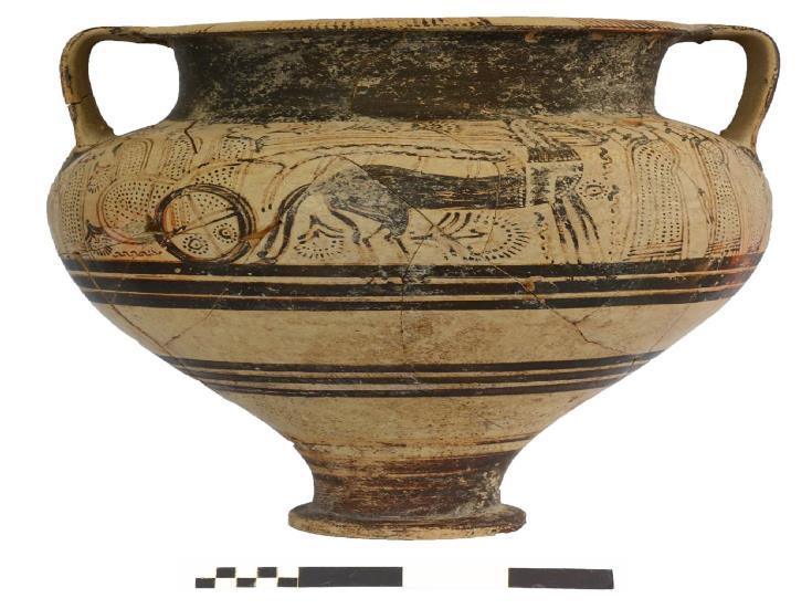 Dromolaxia-Vizakia excavations show city abandoned after violent destruction